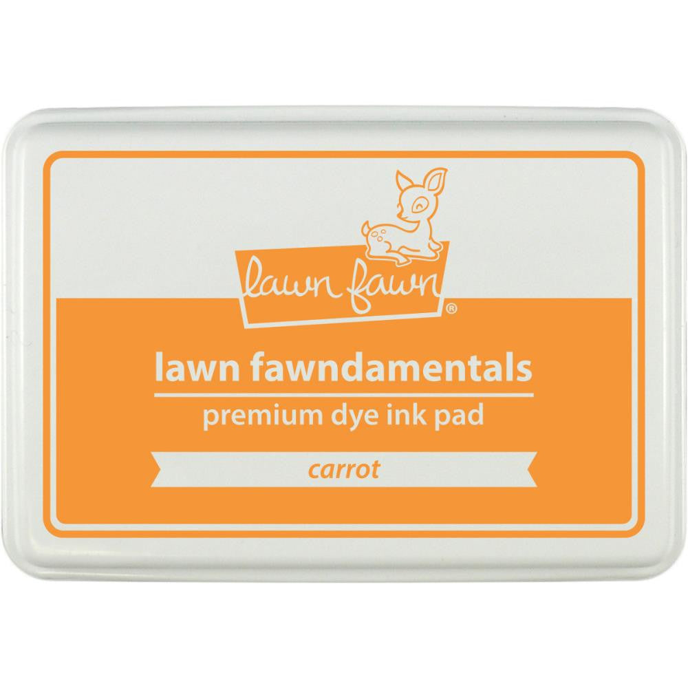 Lawn Fawn Dye Ink Pad - Carrot AS IS
