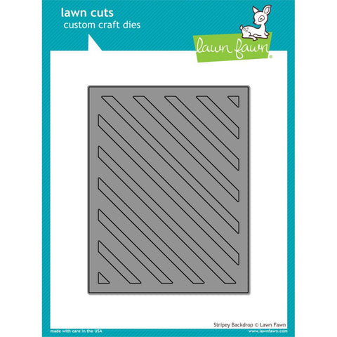 Lawn Cuts Custom Craft Die - Stripey Backdrop
