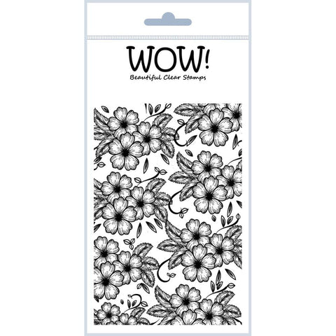 "***New Item*** WOW! Clear Stamp Set 4""X5.75"" - Secret Garden"