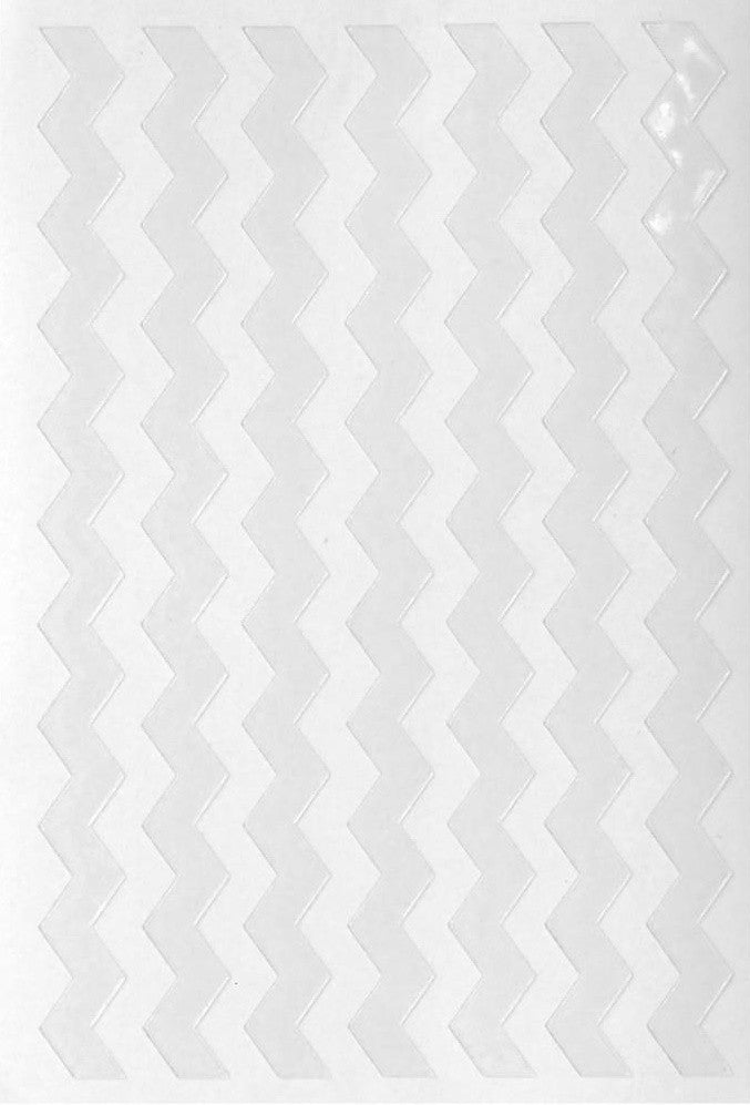 Queen & Co - Stick Ems Stickers - Chevron Borders