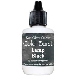 Ken Oliver - Color Burst Powder 6gm Lamp Black