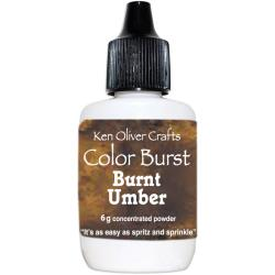 Ken Oliver - Color Burst Powder 6gm Burnt Umber
