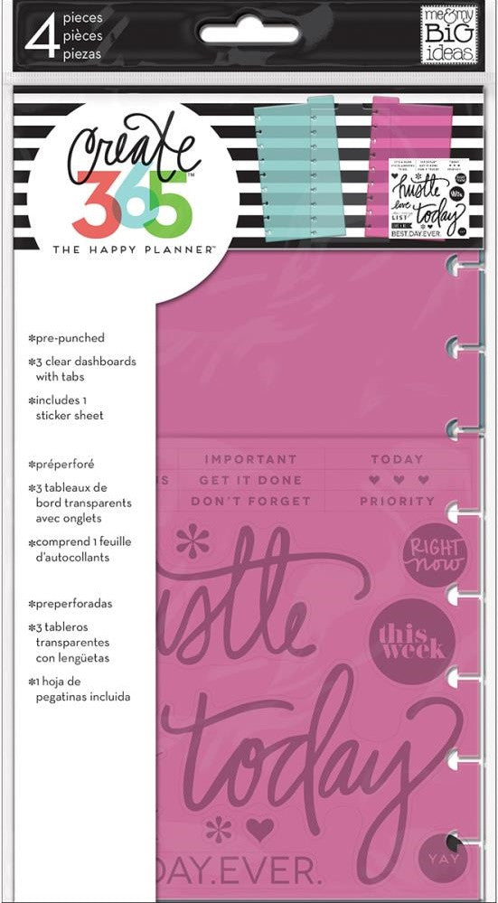 Me & My Big Ideas - Create 365 Happy Planner Dashboards