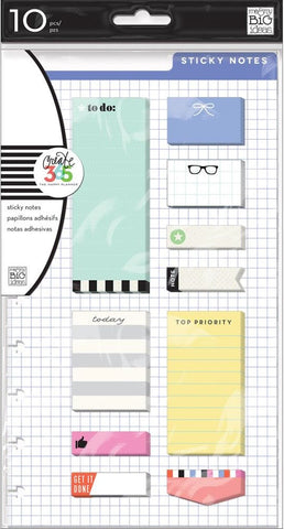 ***Pre-Order*** Me & My Big Ideas - Create 365 The Happy Planner Sticky Notes - To Do