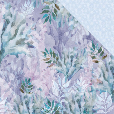 "Kaisercraft Mermaid Tails Double-Sided Cardstock 12""X12"" - Coral Reef"