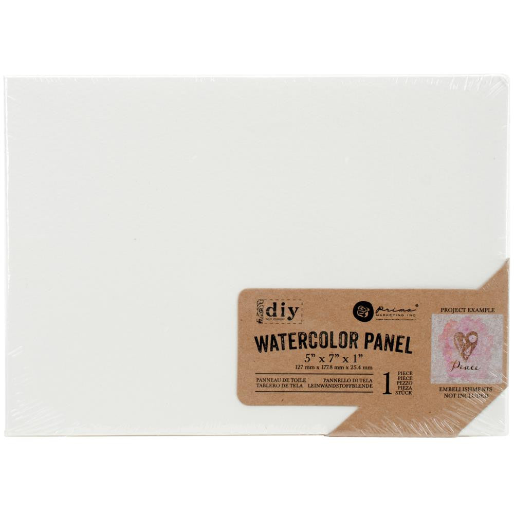"Prima Marketing Watercolor Canvas Panel - 5"" x 7"""