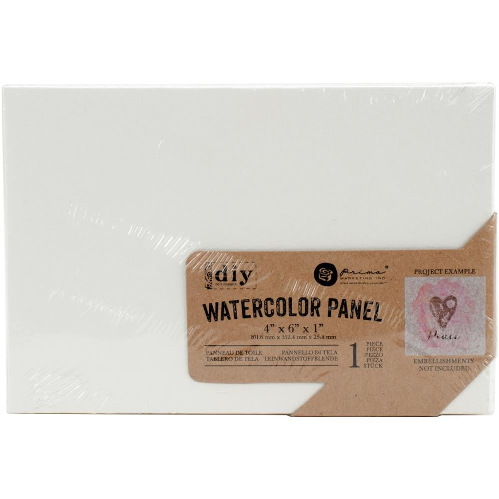 "Prima Marketing Watercolor Canvas Panel - 4"" x 6"""