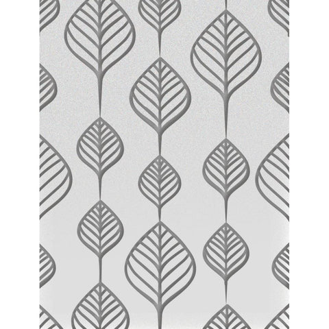 ***New Item*** Ultimate Crafts Embossing Folder A2 - Screen Of Leaves