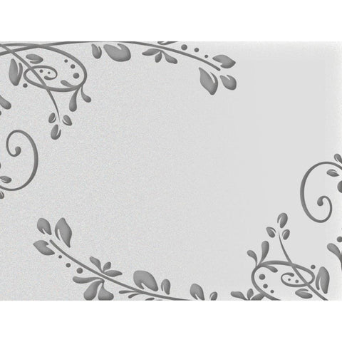 ***New Item*** Ultimate Crafts Embossing Folder A2 - Flourished Corners