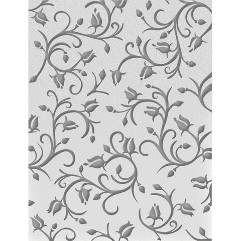 ***New Item*** Ultimate Crafts Embossing Folder A2 - Dancing Roses