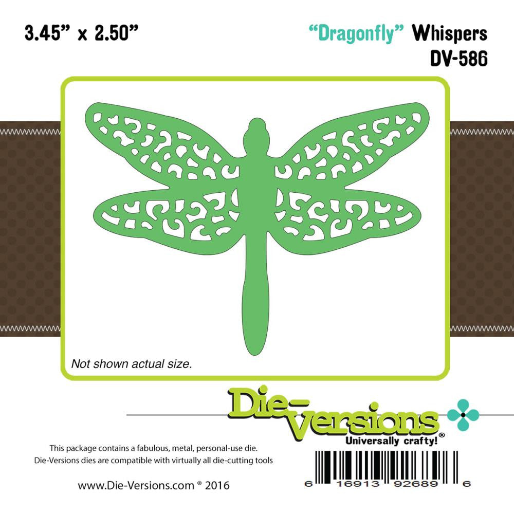 "Die-Versions Whispers Die - Dragonfly 3.45""X2.5"""