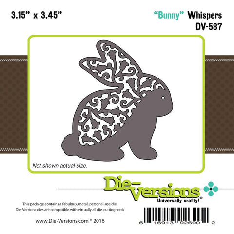 "Die-Versions Whispers Die - Bunny 3.15""X3.45"""