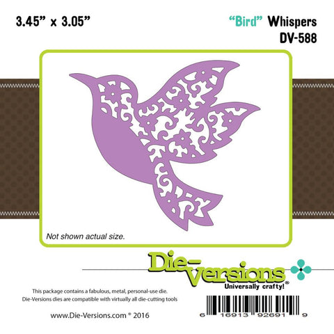 "Die-Versions Whispers Die - Bird 3.45""X3.05"""