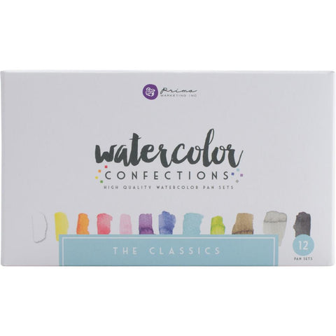 Prima Marketing Watercolor Confections Watercolor Pans - The Classics