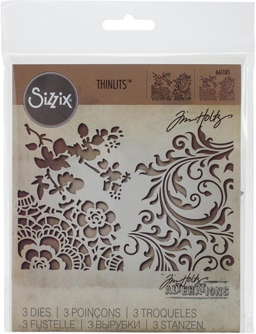 ***Pre-Order*** Sizzix - Thinlits Dies By Tim Holtz - Mixed Media #2