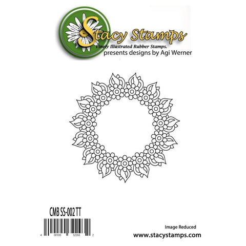 "***New Item*** Stacy Stamps, Cling Stamps, 4.25""X3.25"" - Color Me Beautiful 2"