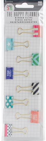 ***Pre-Order*** Me & My Big Ideas - Create 365 The Happy Planner Binder Clips - Top Priority