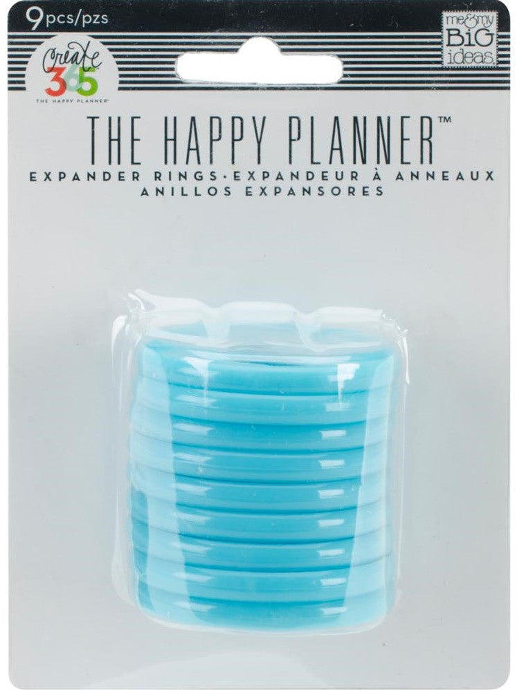 Me & My Big Ideas - Create 365 The Happy Planner Expander Rings - Teal 1.75""