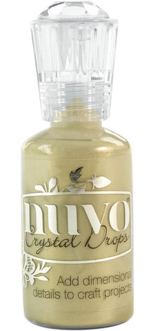 Nuvo - Tonic Studios - Crystal Drops - Pale Gold