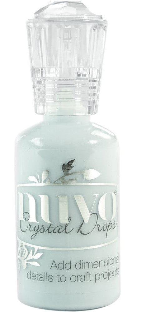 Nuvo - Tonic Studios - Crystal Drops - Duck Egg Blue