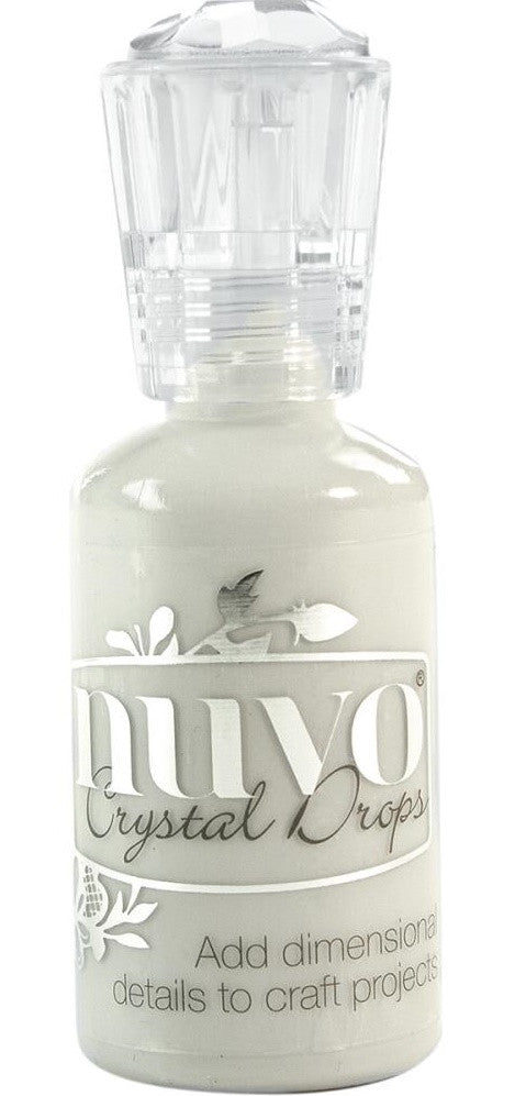 Nuvo - Crystal Drops - Oyster Gray