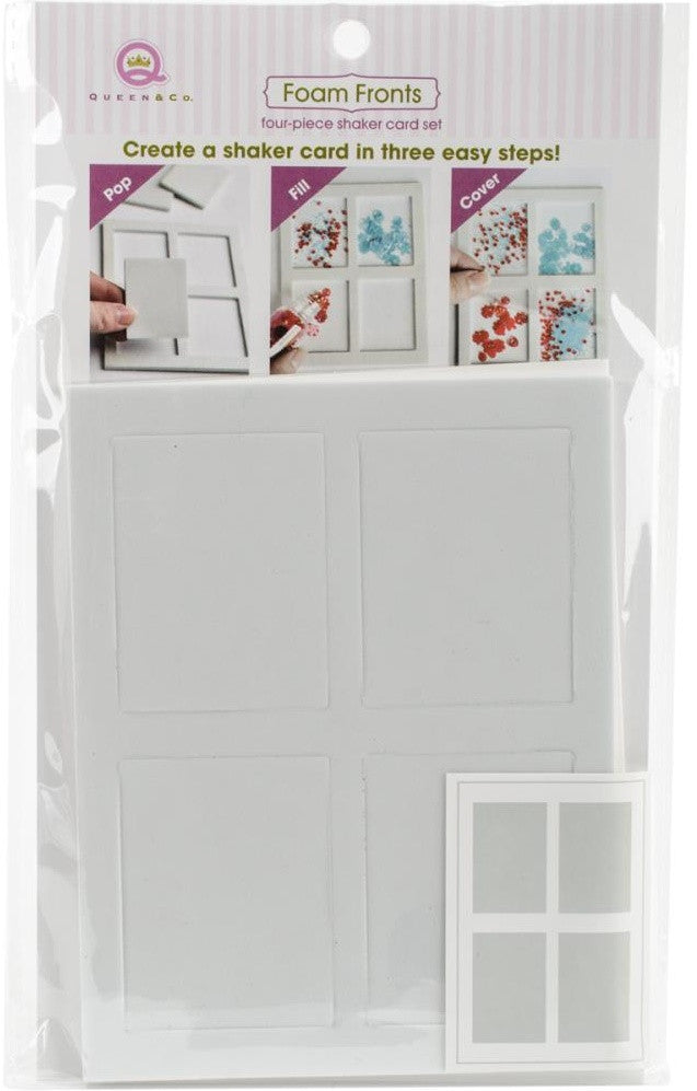 Queen & Co - Foam Front Card Kit - Windows