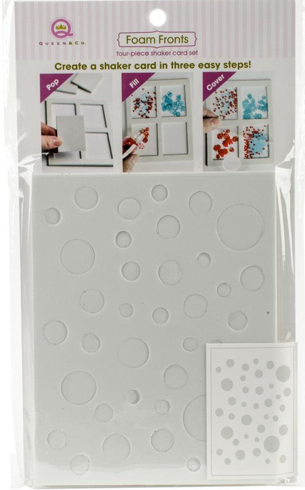 Queen & Co - Foam Front Card Kit - Polka Dots