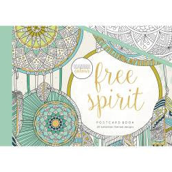 ***New Item*** KaiserColour Postcard Book 20/Pkg - Free Spirit