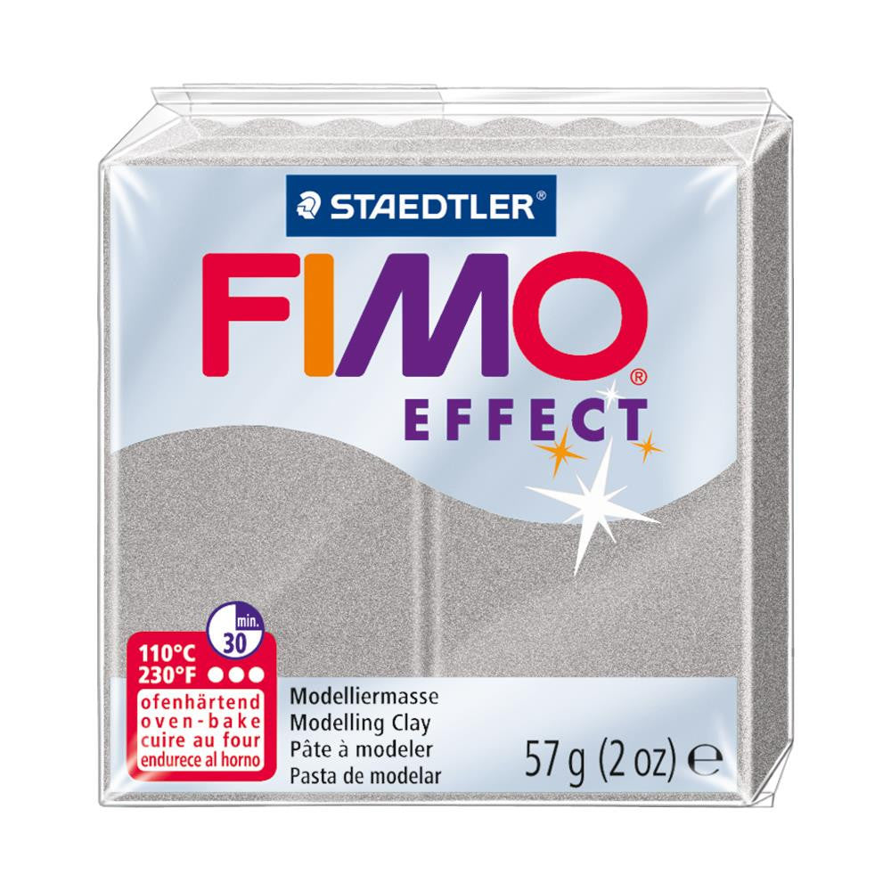 Fimo Effect Polymer Clay 2oz - Metallic Silver