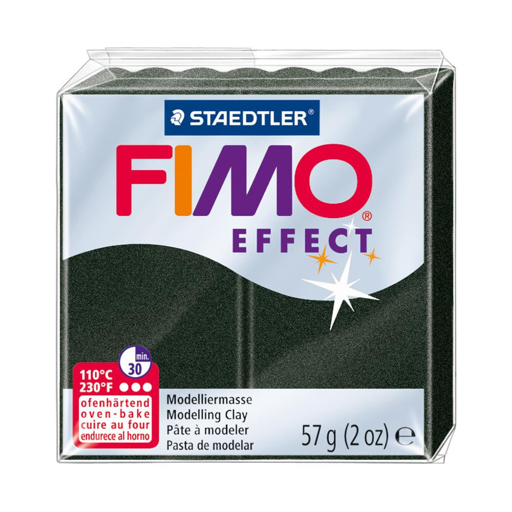 Fimo Effect Polymer Clay 2oz - Black Pearl