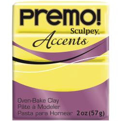 Premo Sculpey Polymer Clay 2oz - Fluorencent Yellow