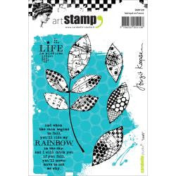 ***New Item*** Carabelle Studio - Cling Stamp A6 - Leafs