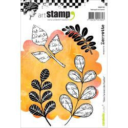 ***New Item*** Carabelle Studio - Cling Stamp A6 - In The World Of Leaves