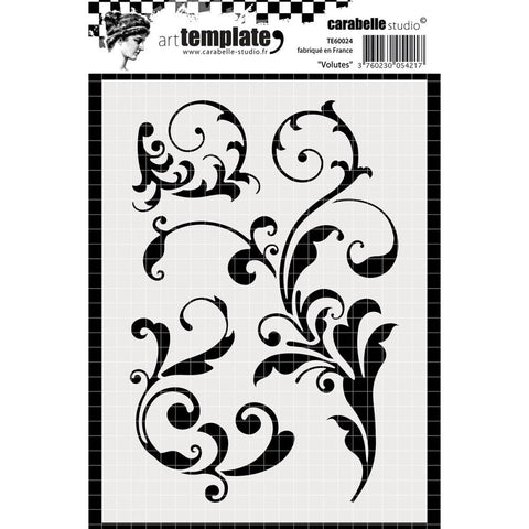 ***New Item*** Carabelle Studio - Template A6 - Billows