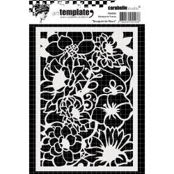 ***New Item*** Carabelle Studio - Template A6 - Flowers Bouquet