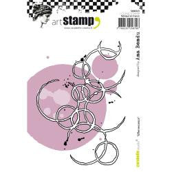 ***New Item*** Carabelle Studio - Cling Stamp A6 - Effervescence