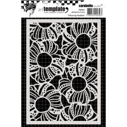 Carabelle Studio - Template A6 - Flowers