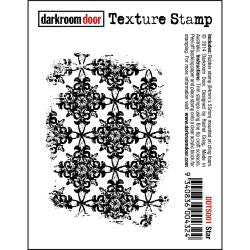 "Darkroom Door - Cling Stamps 3""x2"" - Star"