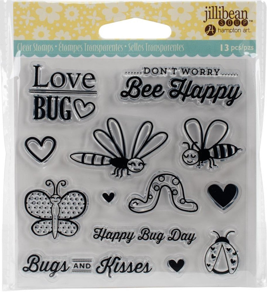 Jillibean Soup - Clear Stamps - Love Bug