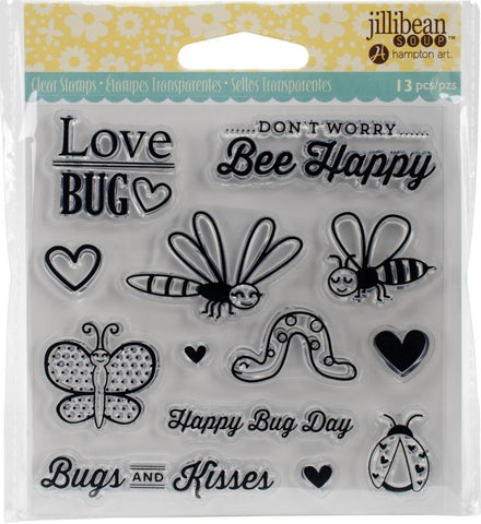(pre order) Jillibean Soup - Clear Stamps - Love Bug
