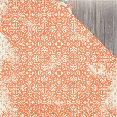 "***New Item*** BoBunny, Bella Rosa Double-Sided Cardstock 12""X12"" - Damask"