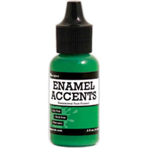 ***New Item*** Ranger - Inkssentials Enamel Accents, .5oz - Lily Pad