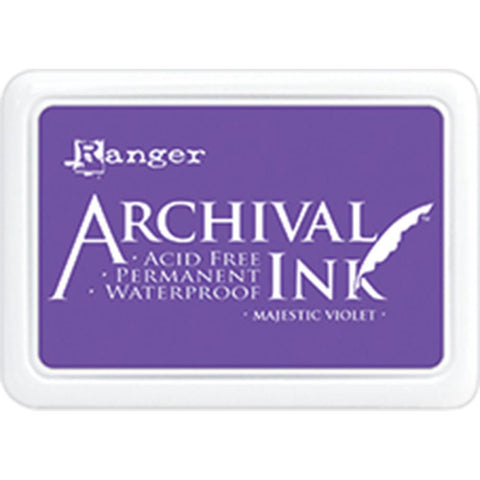 ***New Item*** Ranger- Archival Ink Pad #0 - Majestic Violet