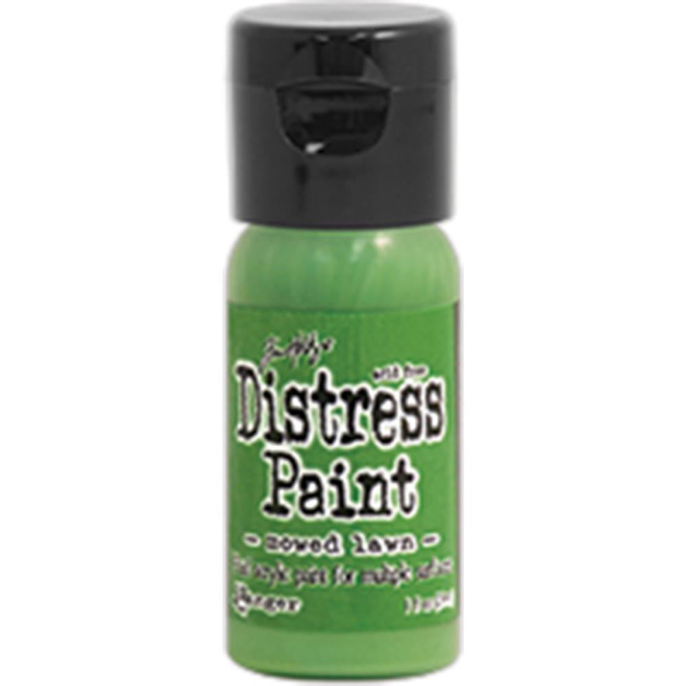 Ranger, Tim Holtz, Distress Paint Flip Cap 1oz - Mowed Lawn