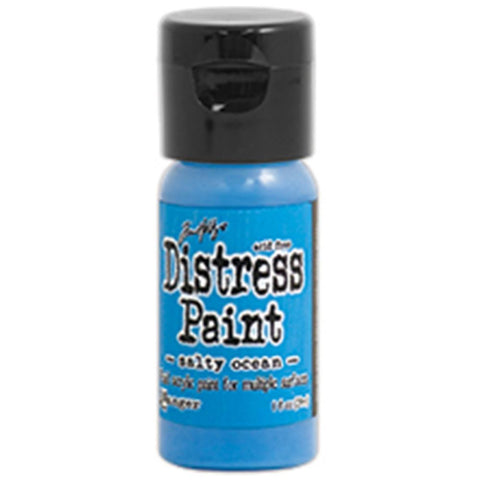 Ranger, Tim Holtz, Distress Paint Flip Cap 1oz - Salty Ocean