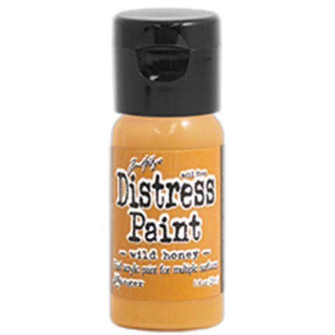 Ranger, Tim Holtz, Distress Paint Flip Cap 1oz - Wild Honey