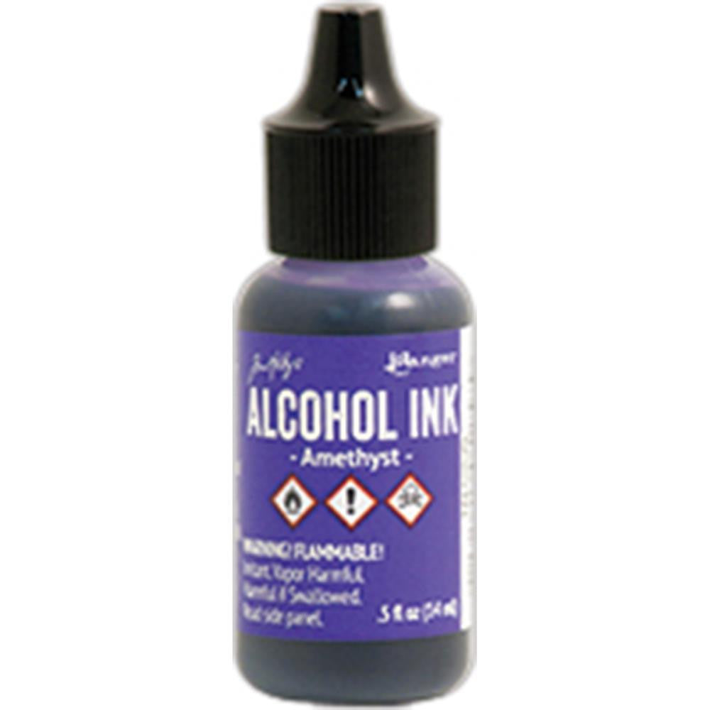 Ranger - Tim Holtz Alcohol Ink, .5oz - Amethyst