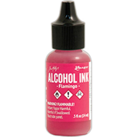 Ranger - Tim Holtz Alcohol Ink, .5oz - Flamingo