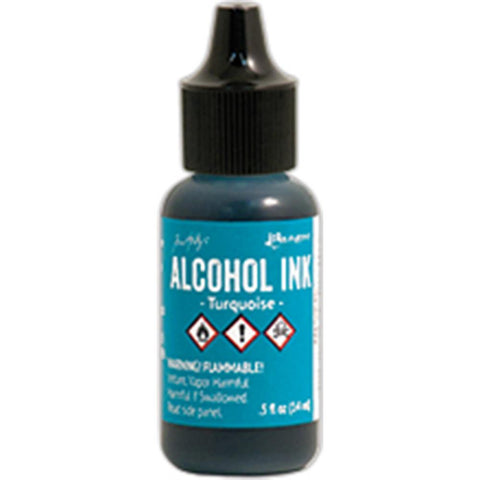 Ranger - Tim Holtz Alcohol Ink, .5oz - Turqoise