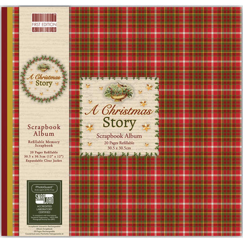 "Trimcraft Snap Load Album 12""X12"" - A Christmas Story"